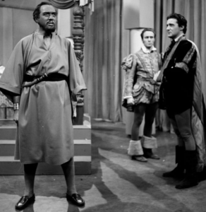 Lead in Othello, 1953